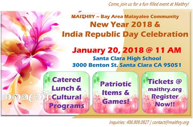 Maithry New year 2018 & India Republic Day Celebration