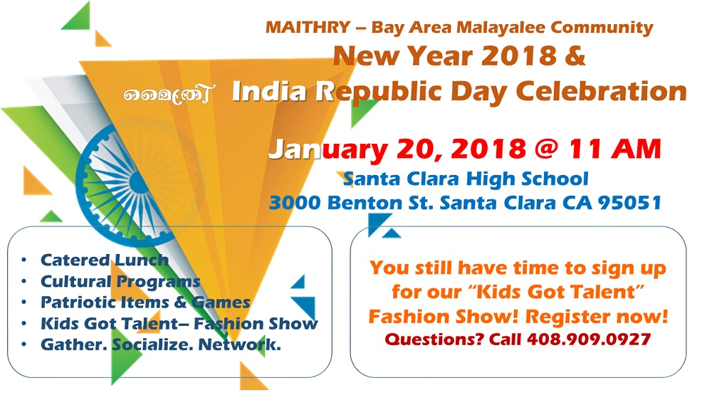 Maithry New year 2018 & India Republic Day Celebration