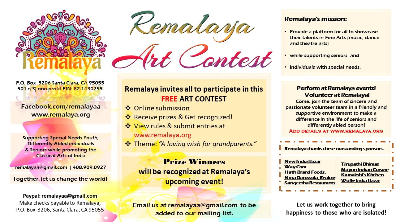 Remalaya Art Contest ends on January 12, 2019